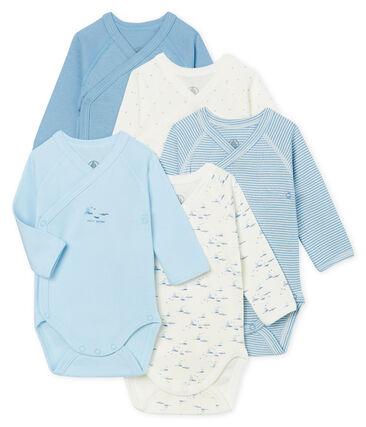 Newborn Babies' Long-Sleeved Bodysuit - 5-Piece Set