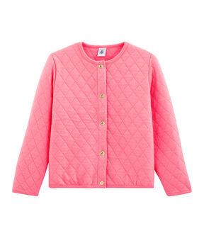 Girls' Cardigan Cupcake pink