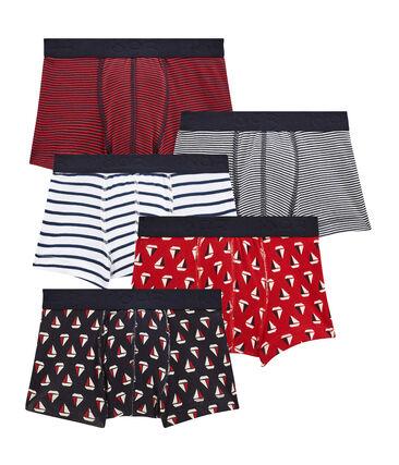 Set of 5 little boy's boxers