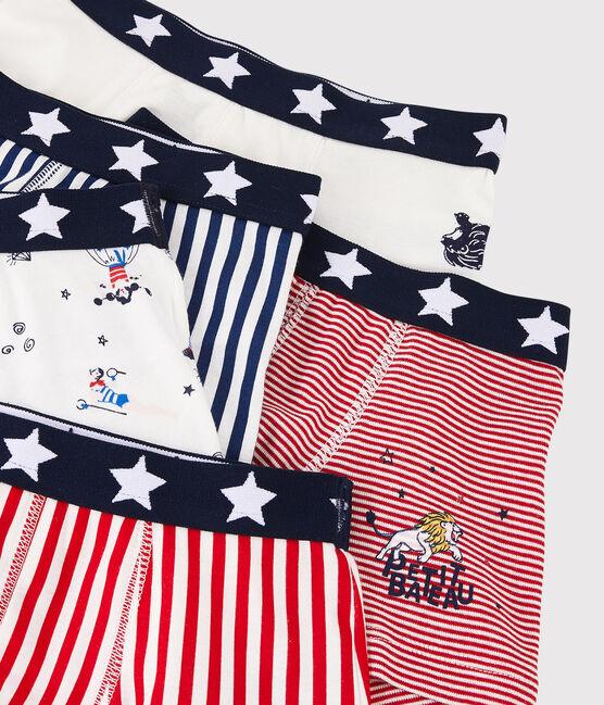 Boys' Festive Print Boxer Shorts - 5-Piece Set . set