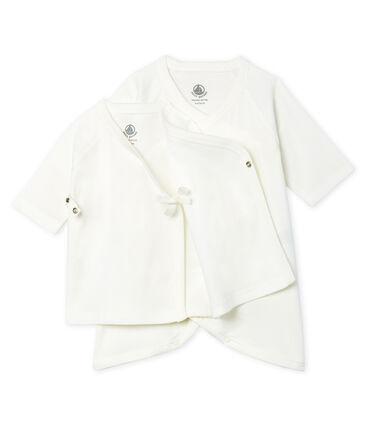 Baby Kimono Bodysuit and Undershirt Set in Rib Knit . set