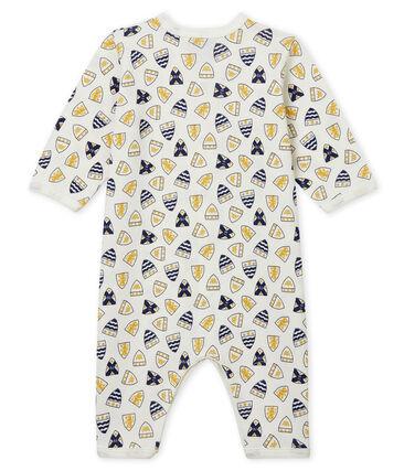 Baby Boys' Ribbed Footless Sleepsuit