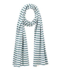Women's stripy scarf