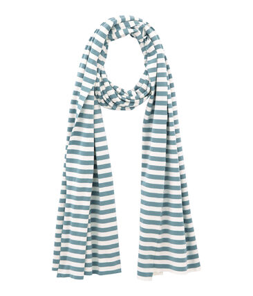 Women's stripy scarf