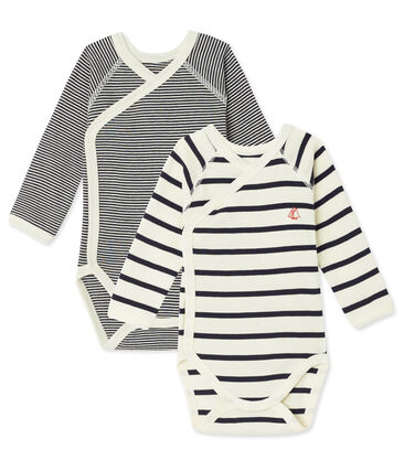 Mixed newborn baby's body duo . set