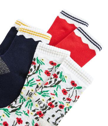 Girls' Socks - 3-Piece Set