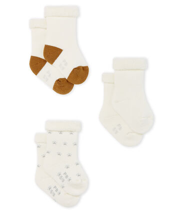 Babies' Terry Socks - 3-Piece Set