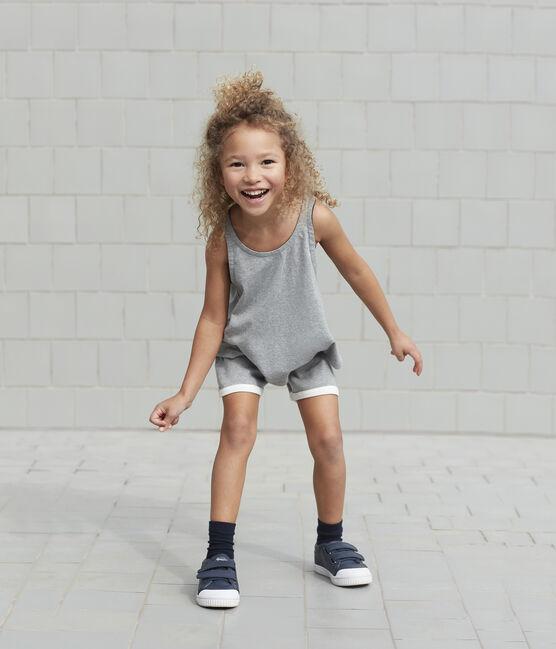 Girls' Sports Shorts Subway grey
