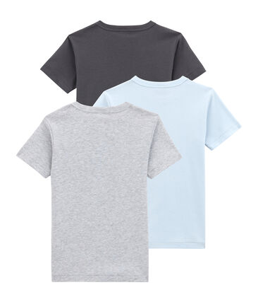 Little boy's short sleeved tee-shirttrio