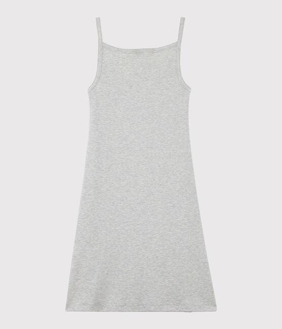 Women's strappy dress Beluga grey
