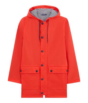 Iconic women's raincoat Brulant red