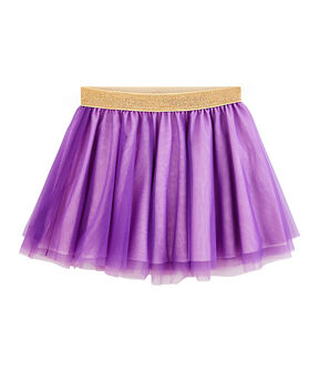 Girls' Skirt Real purple