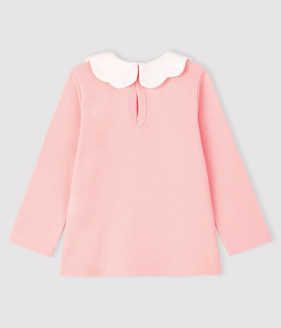 Baby girl's long-sleeved blouse Minois pink