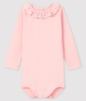 Baby girl's long-sleeved bodysuit MINOIS
