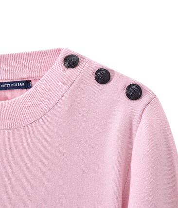 Women's sailor sweater Babylone pink