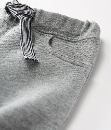 Baby Boys' Warm Fleece Trousers Subway grey