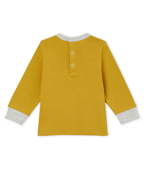 Baby boy's T-shirt Inca yellow