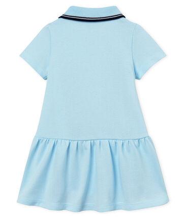Baby Girls' Short-Sleeved Dress Bocal blue
