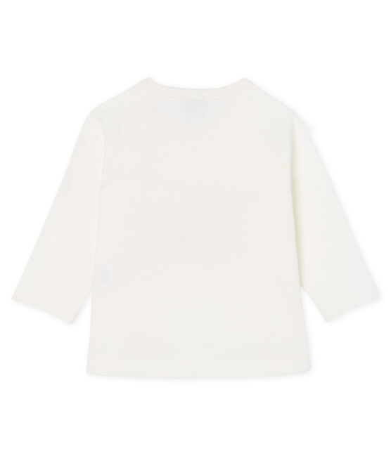 Baby Girls' Long-Sleeved T-Shirt Marshmallow white