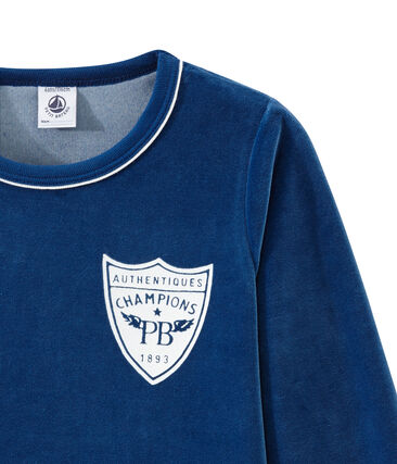 Little boy's pyjamas Limoges blue