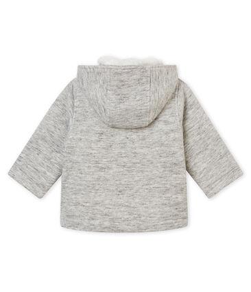 Baby boy's cotton sweatshirt pea coat