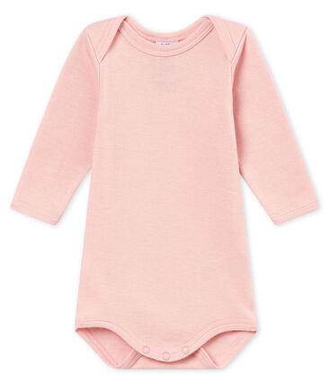 Baby boy's long sleeved body Joli pink