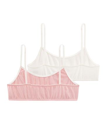 Pack of 2 Girls' Bralettes . set