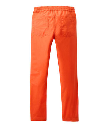 Boy's pants with elasticized waist