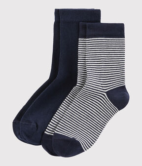 Boys' socks Smoking blue