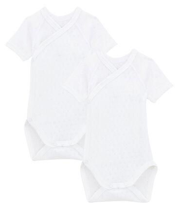 Babies' Short-Sleeved Bodysuit - 2-Piece Set