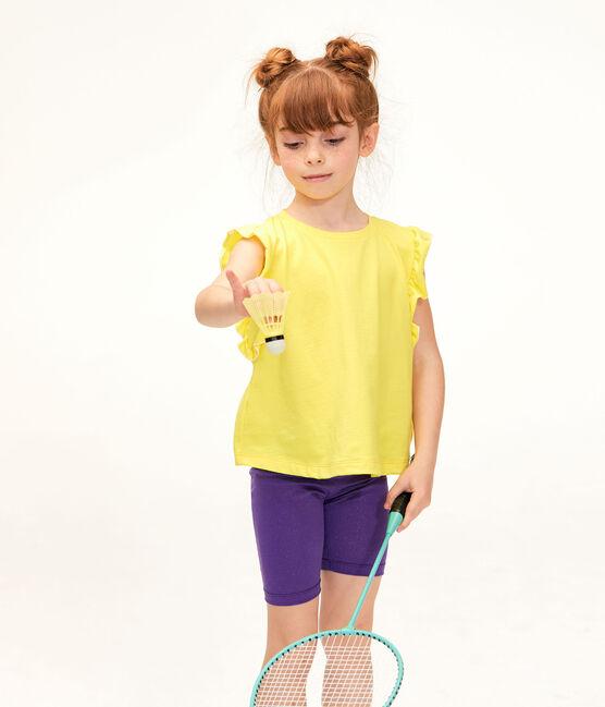 Girls' Top Eblouis yellow
