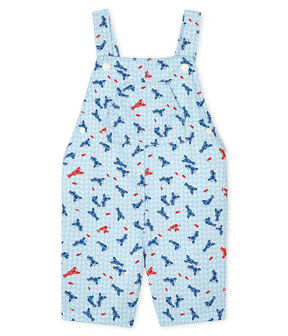 Baby Boys' Printed Short Dungarees Marshmallow white / Multico white