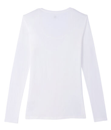 Women's long-sleeved lightweight cotton t-shirt