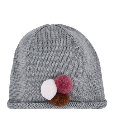 Girl's hat Subway grey