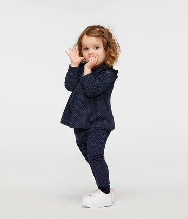 Baby Girls' Printed Ruffled Leggings
