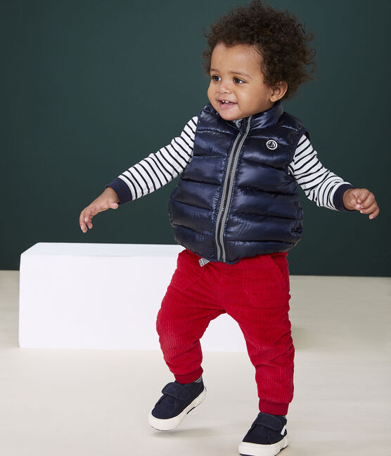 Baby's reversible puffer jacket SMOKING