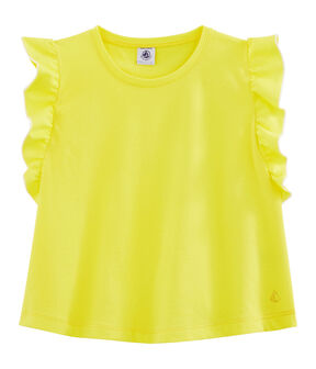 Girls' Top Eblouis yellow