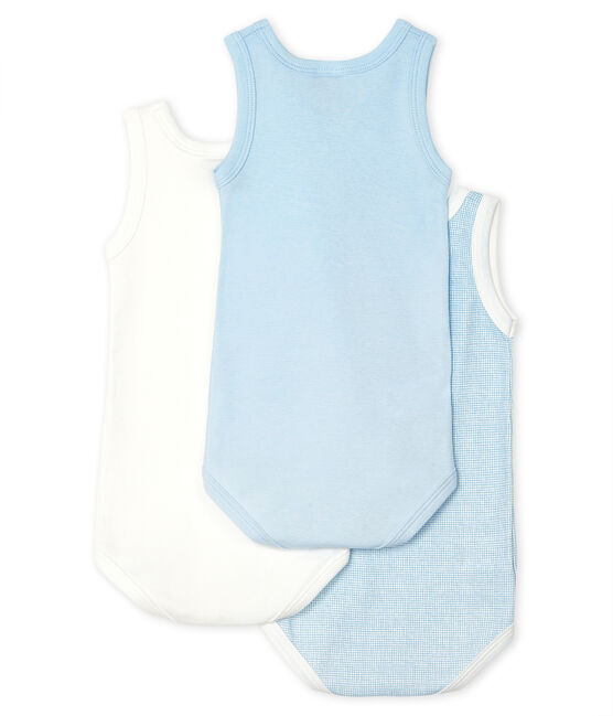Unisex Baby's Sleeveless Bodysuit - 3-Piece Set . set