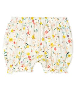 Baby Girls' Print Bloomers Marshmallow white / Multico white