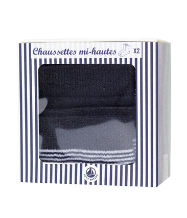 Pack of 2 pairs of women's socks
