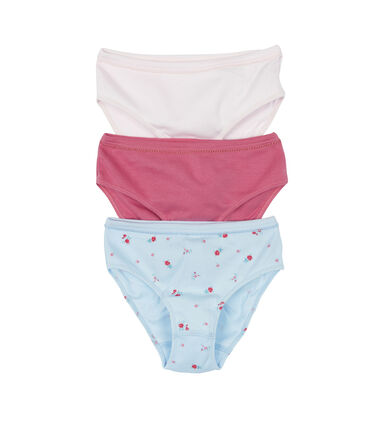 Set of 3 girls' panties