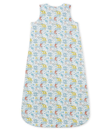 Baby Boys' Reversible Sleeping Bag in Cotton
