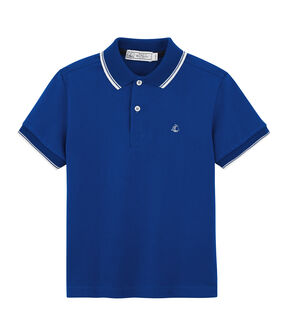 Boys' Polo Shirt Surf blue