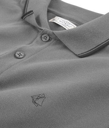 Men's Polo Shirt Subway grey