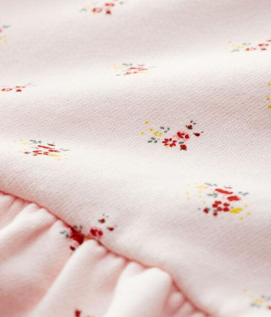 Babies' Yellow Stripy Organic Cotton Poplin Playsuit Jaune yellow / Marshmallow white