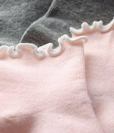 Baby Girls' Ankle Socks - 2-Piece Set