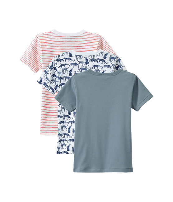 Set of 3 boys' short-sleeved t-shirts . set