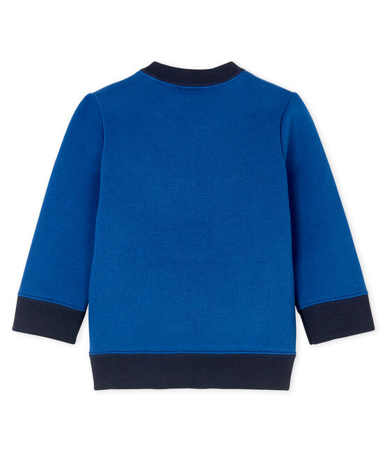 Baby Boys' Fleece Sweatshirt Limoges blue