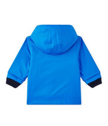 Waxed baby raincoat