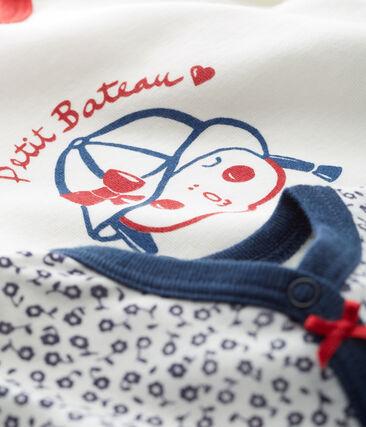 Baby Girls' Footless Sleepsuit - Set of 2 . set